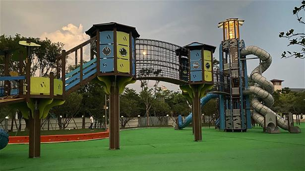 Lighthouse play tower in China by Lappset Group