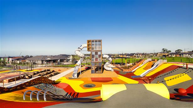 Area photo of a playground in Australia by Lappset Group