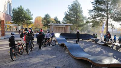 Lappset pumptrack